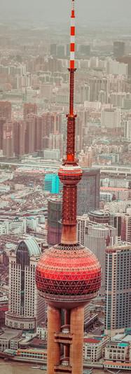 Shanghai von oben