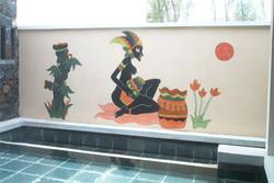 pittura murale - Mauritius