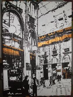 acrilico - galleria V. Emanuele