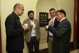Design leaders interacting with Subbu Iyer( CEO of HREEMM)