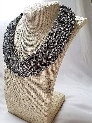 Beaded Braided Necklace