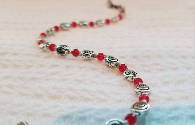 Small Swirl Anklet