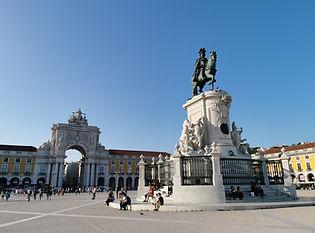 piazza del commercio Praça do comércio s