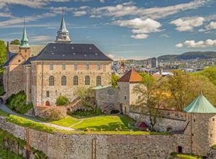 castello castle akershus oslo norvegia n