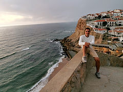Azenhas do Mar sintra algarve coast costa viaggio fai da te self travel road trip drive self-guided