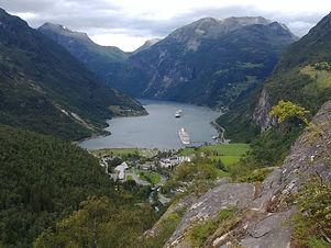 geirangerfjord Fiordi Norvegesi fjord tr