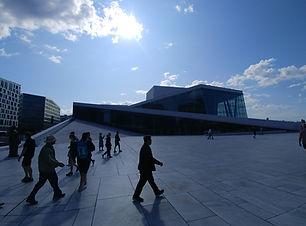 Teatro opera theater oslo norvegia norwa