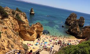 Praia do camillo Portogallo Portugal spi