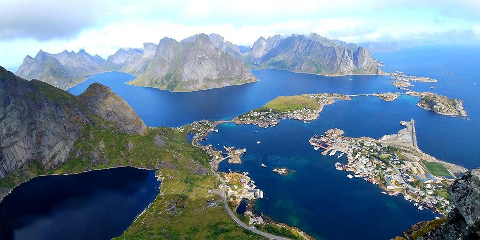 Norvegia Norway Isole Lofoten Islands Tr