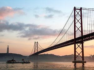 Bridge Ponte 25 de abril Portogallo Port