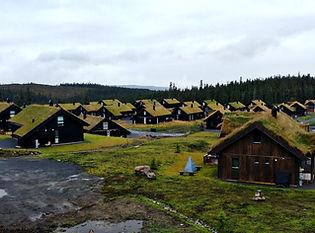 Il villaggio di Storås & Sjusjøen villag