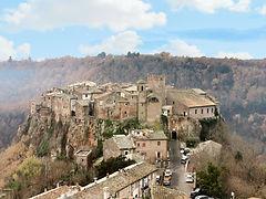 borgo village calcata italia italy rome
