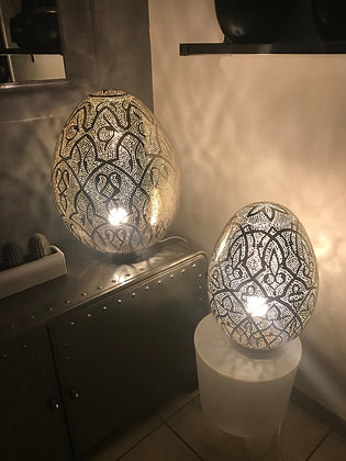 Lampe Argentée Taille S