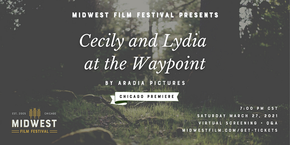 Cecily and Lydia at the Waypoint Film Screening