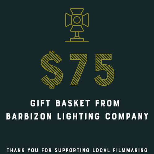 Gift Basket From Barbizon Lighting Company Raffle Ticket