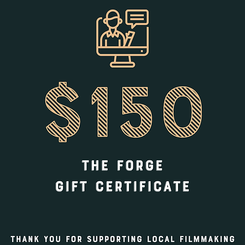 The Forge $150 Gift Certificate Raffle Ticket