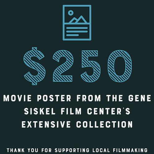 Gene Siskel Film Center Movie Poster Raffle Ticket