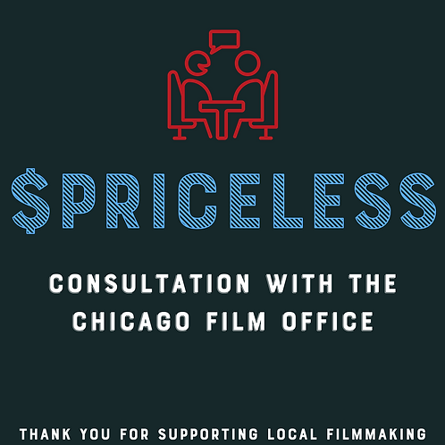 Consultation with The Chicago Film Office Raffle Ticket