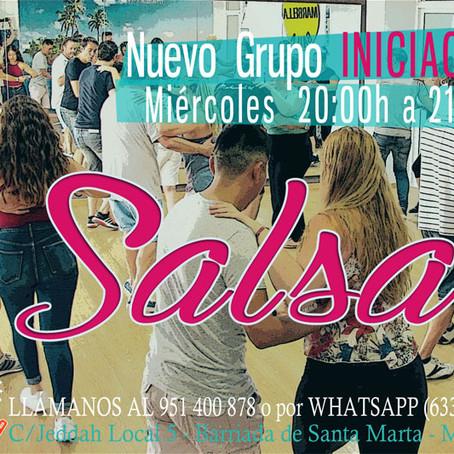 NUEVO GRUPO DE SALSA INICIACIÓN Junio 2017