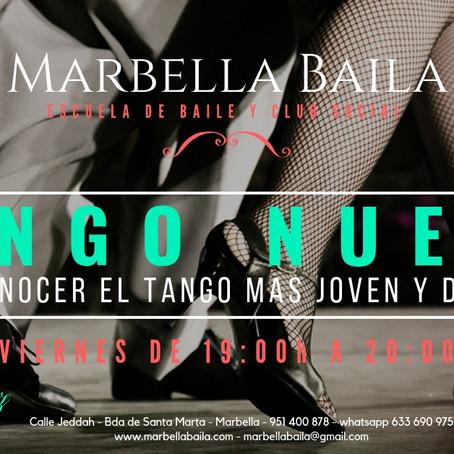 Nuevo curso de Tango en Marbella Baila