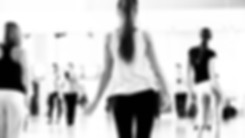 Dance class for women black and white.jp