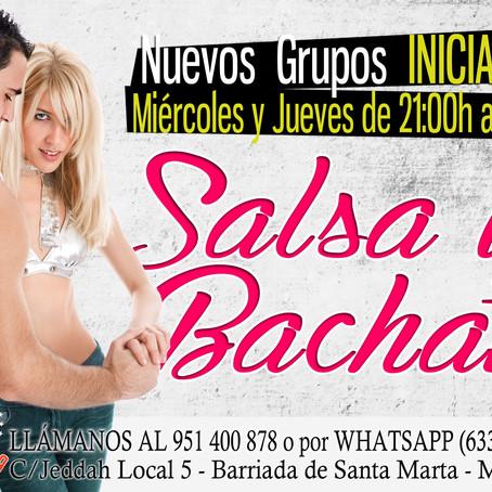 Apertura nuevos grupos de Salsa y Bachata