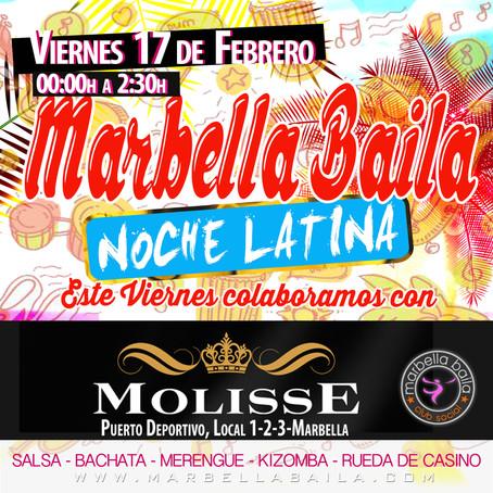 "Quedada Marbella Baila ""Noche latina discoteca Molisse"""