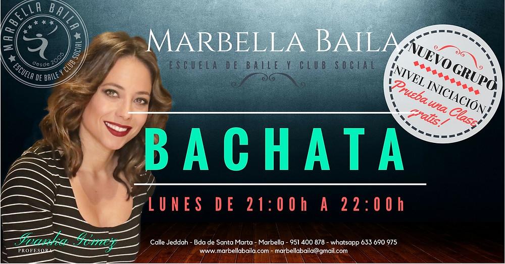bachata en marbella baila