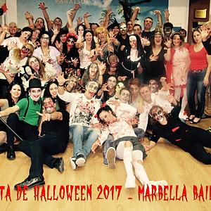 Fiesta Halloween Marbella Baila