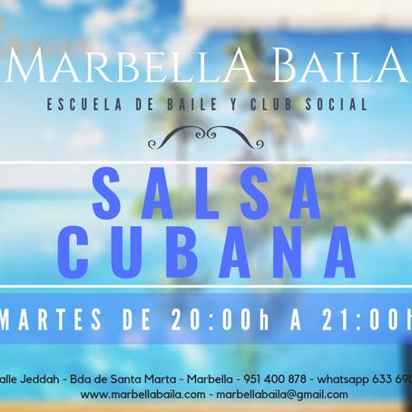 NUEVO GRUPO DE SALSA CUBANA NIVEL INICIACIÓN