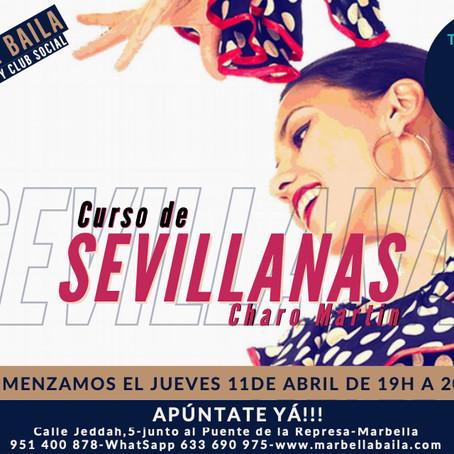 Curso de Sevillanas - Marbella Baila