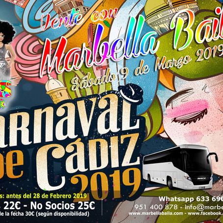 Carnaval de Cadiz 2019 - Marbella Baila