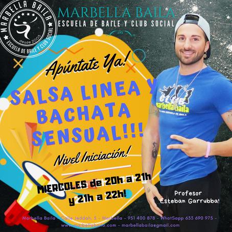 Nuevos grupos para Marzo - Salsa Línea y Bachata Sensual