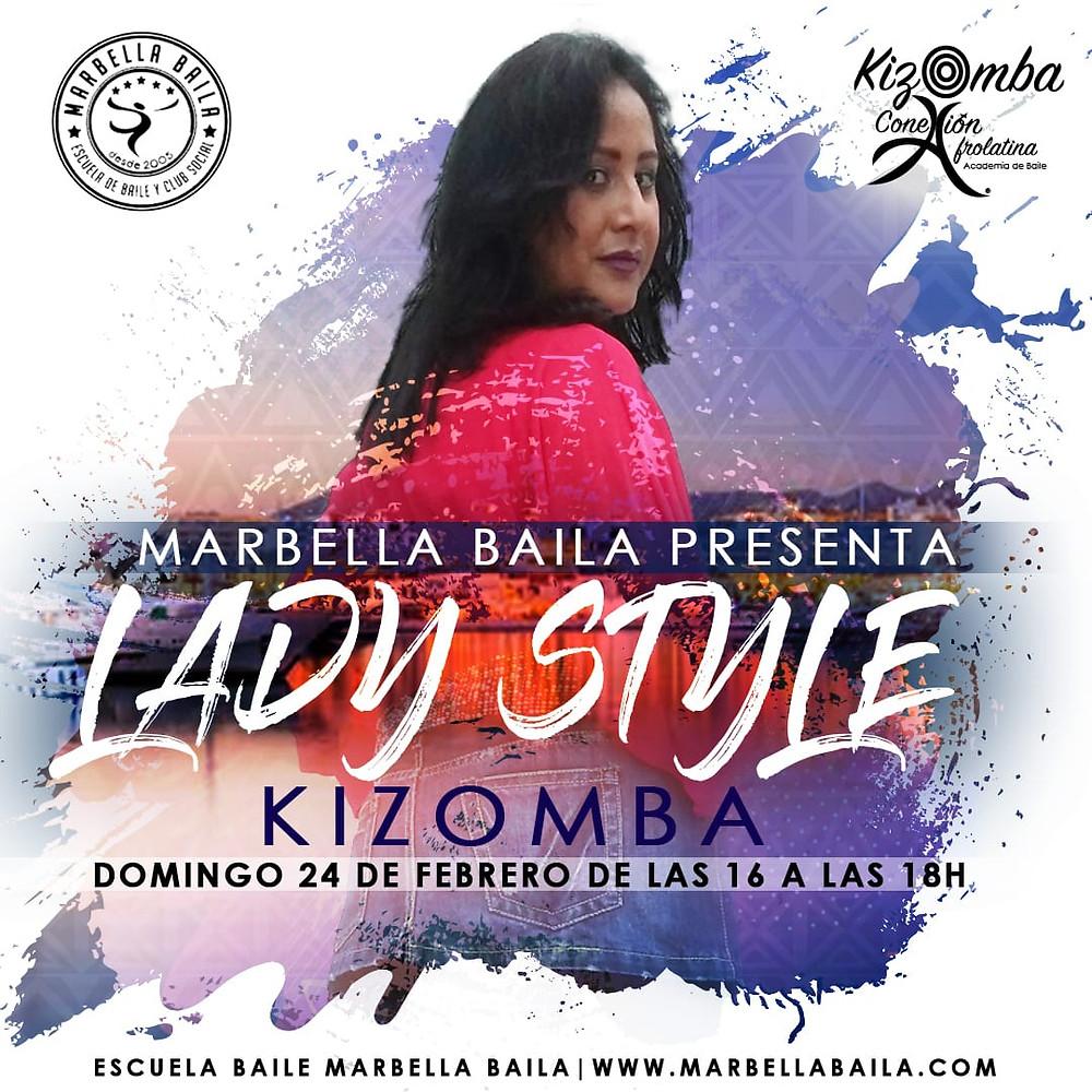 Taller de Lady Style Kizomba - Marbella Baila