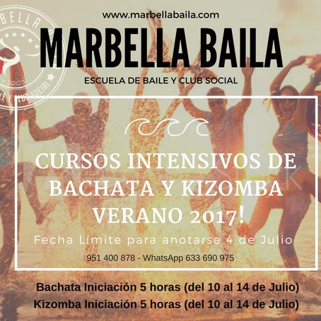 CURSOS DE VERANO 2017 - MARBELLA BAILA