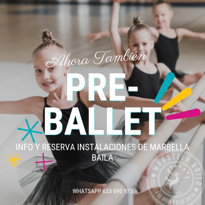 pre-ballet en Marbella Baila