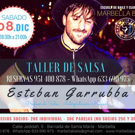 TALLER INTENSIVO DE SALSA SABADO 8 DE DICIEMBRE 2018