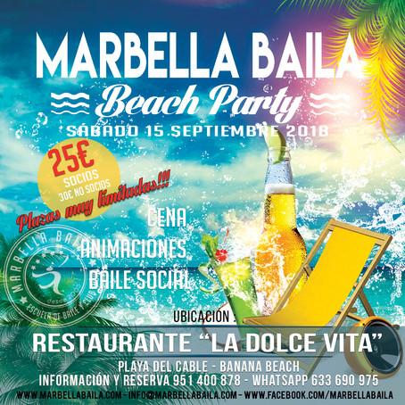 Beach Party Marbella Baila