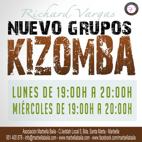 Nuevos grupos de Kizomba