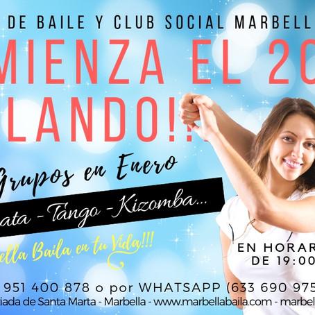 Comienza el 2019 Bailando!!! con Marbella Baila