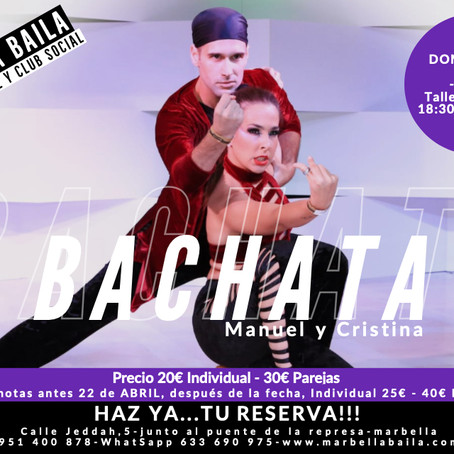 Intensivo de Bachata - Marbella Baila