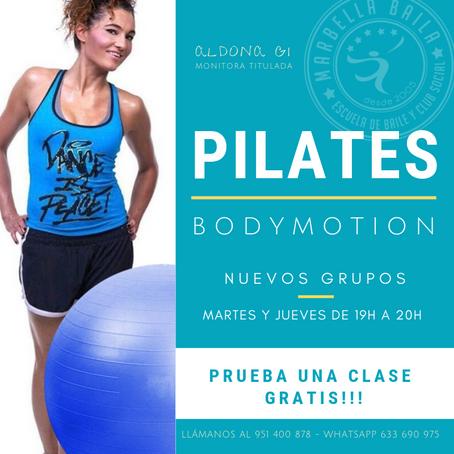 Nuevo grupo de Pilates