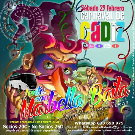 Vente al Carnaval de Cádiz