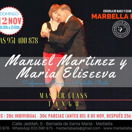 Curso de iniciación al Tango (12 de Noviembre 2017)