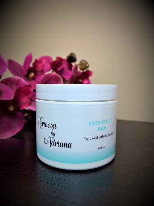 Hermosa Even Out Pads with Hydroquinone