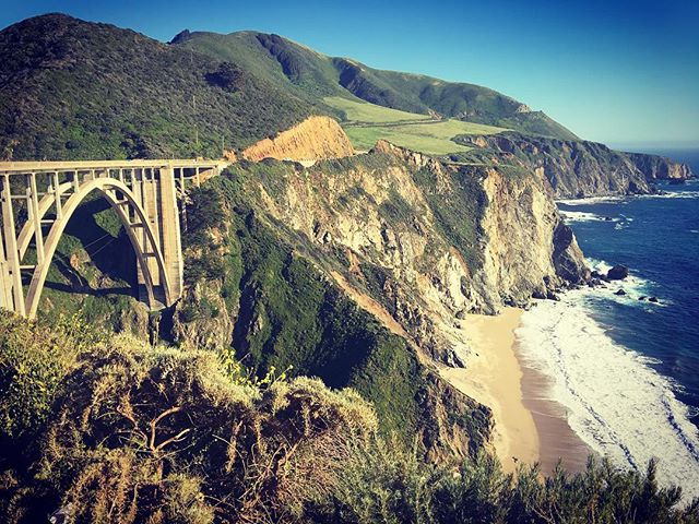 I watched images of this famous bridge f
