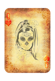 Playing Cards - Queen Of Hearts.png