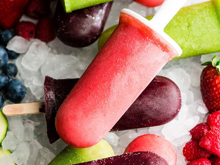 Healthy Summer Popsicle's