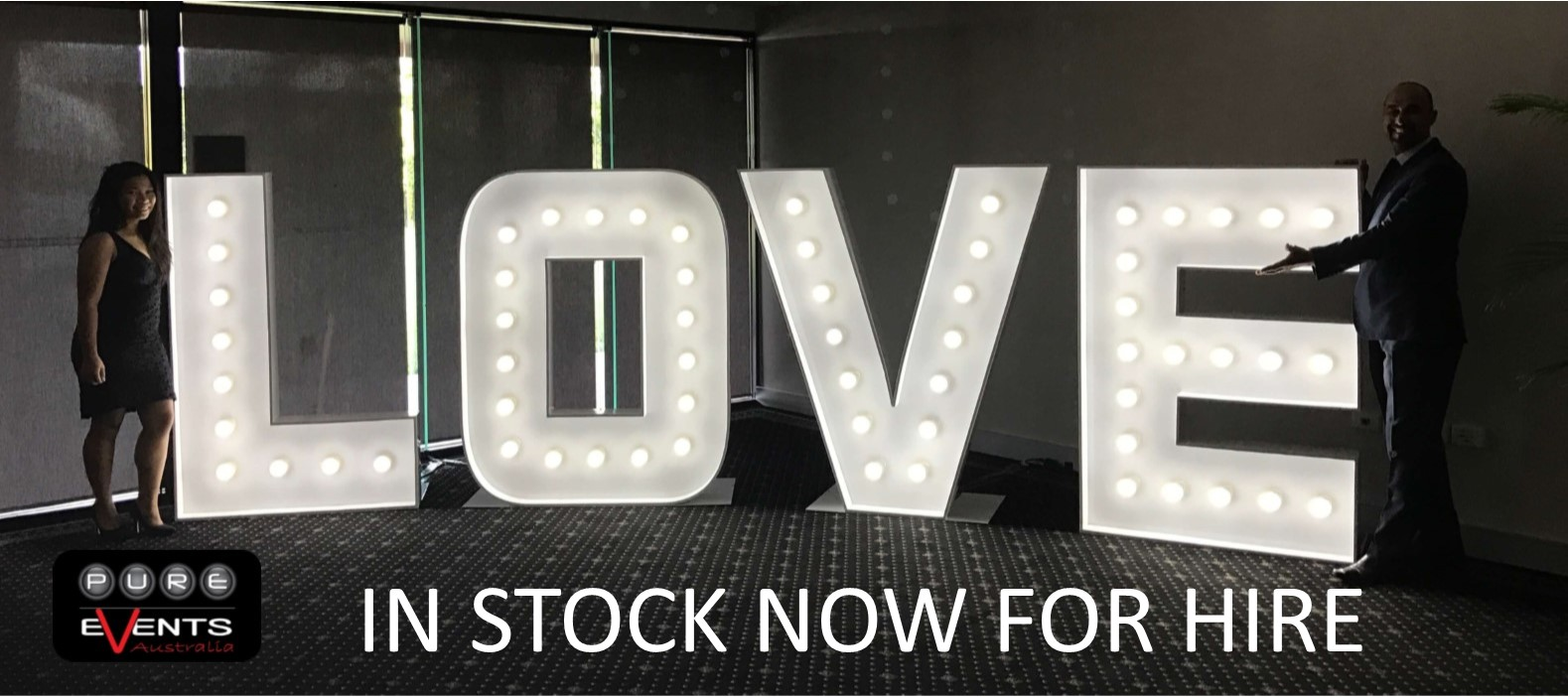 Life Size Marquee Letters NOW AVAILABLE