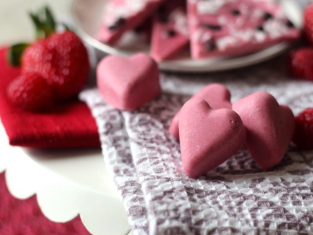 Strawberry Raspberry Treats